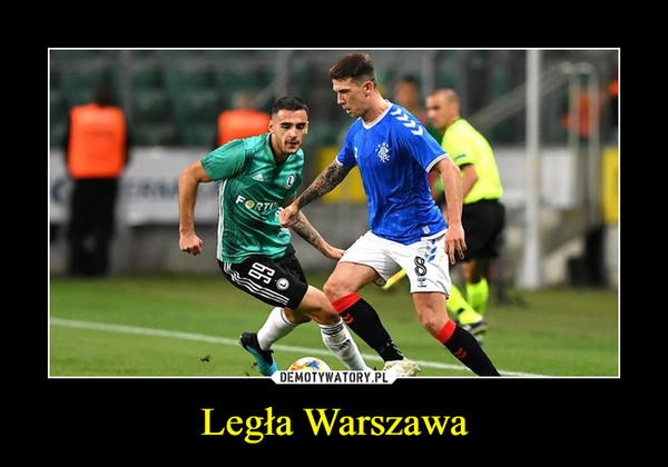Legła Warszawa –