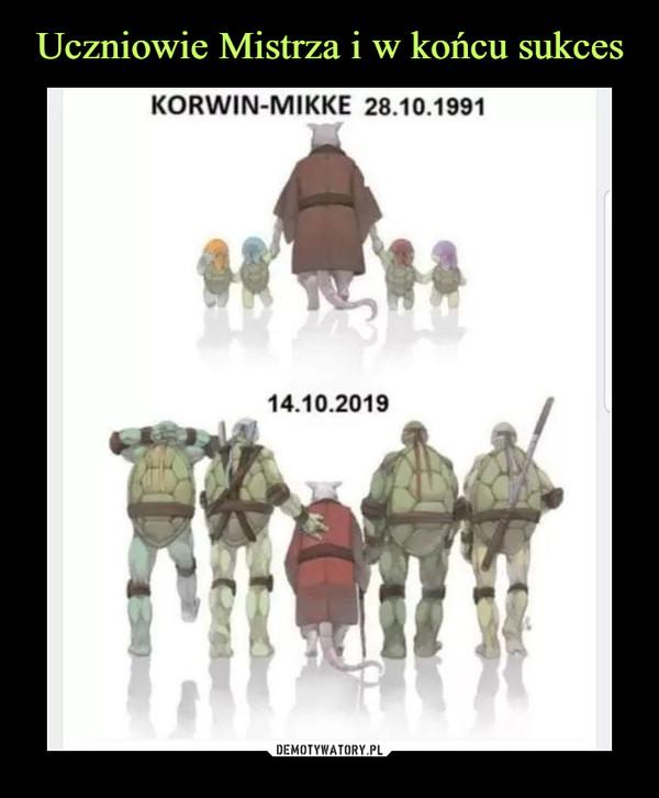 –  KORWIN MIKKE 28.10.199114.10.2019