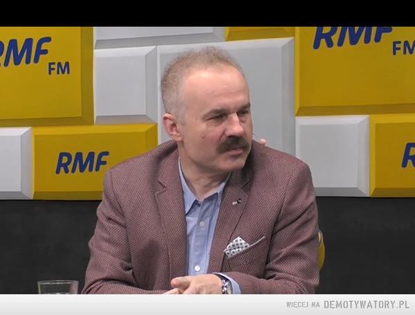 Ministrem Sportuzostanie ten,kto przeskoczy do PiS. – Sens wypowiedzi pana profesora Waldemara Parucha.