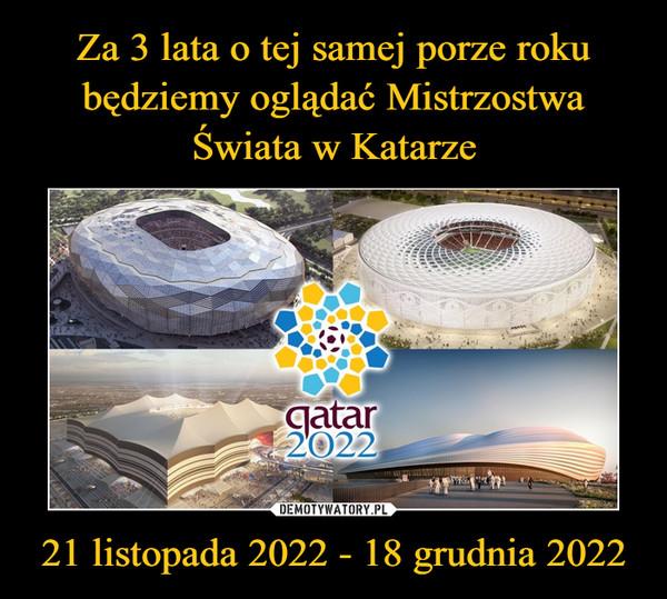 21 listopada 2022 - 18 grudnia 2022 –