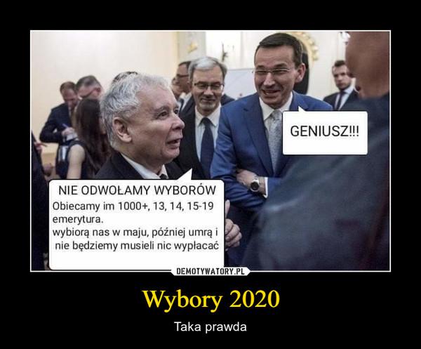 Wybory 2020 – Taka prawda