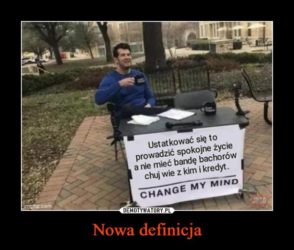 Nowa definicja –