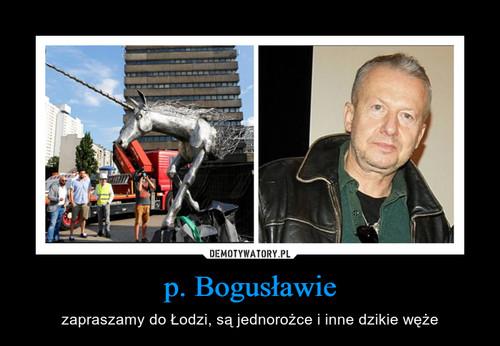 p. Bogusławie