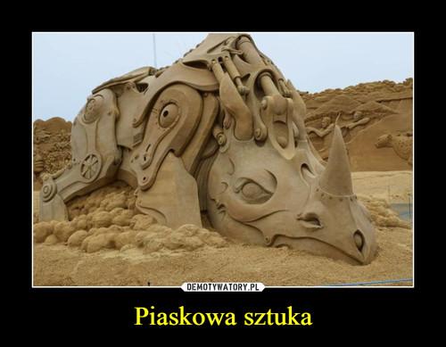 Piaskowa sztuka