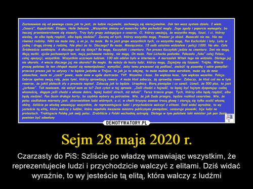 Sejm 28 maja 2020 r.