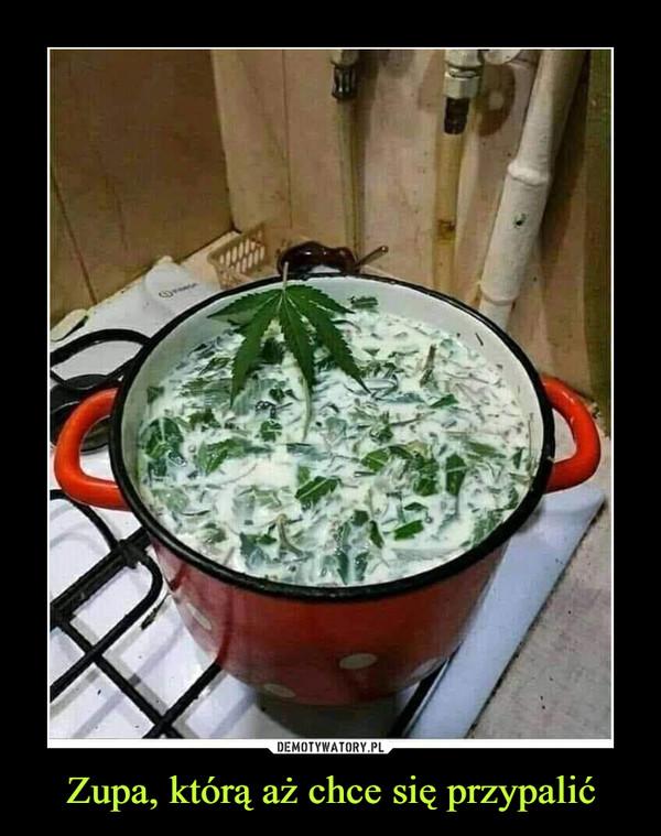 Zupa, którą aż chce się przypalić –