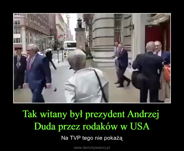 Tak witany był prezydent Andrzej Duda przez rodaków w USA – Na TVP tego nie pokażą