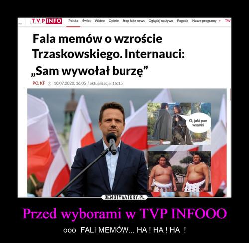 Przed wyborami w TVP INFOOO