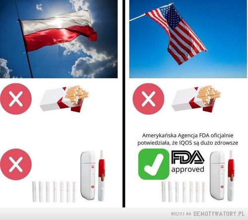 Polska vs. Ameryka
