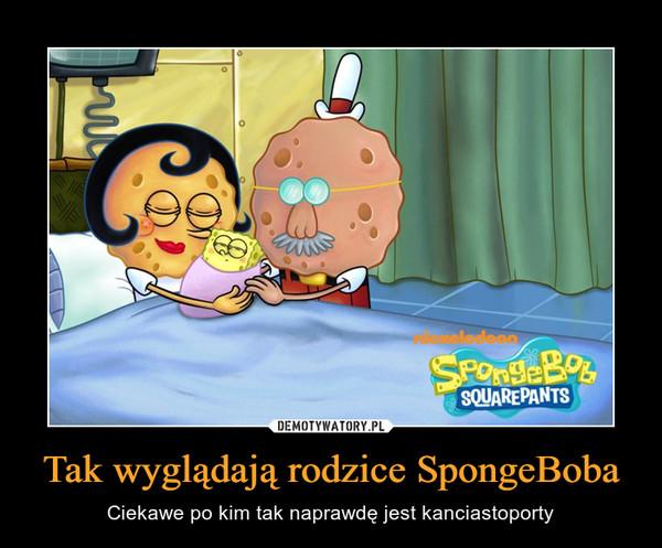 Tak wyglądają rodzice SpongeBoba