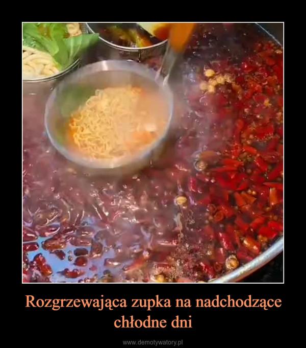 Rozgrzewająca zupka na nadchodzące chłodne dni –