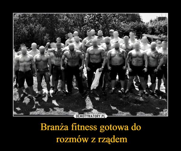 Branża fitness gotowa do rozmów z rządem –