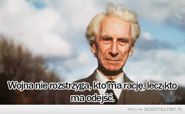 Bertrand Russell –