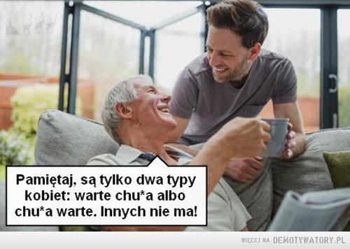Dziadek poucza wnuczka