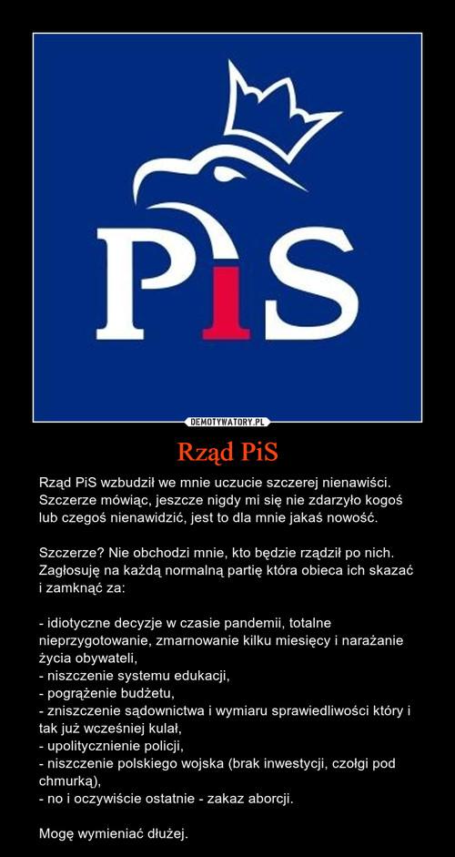 Rząd PiS