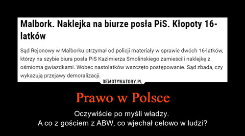 Prawo w Polsce