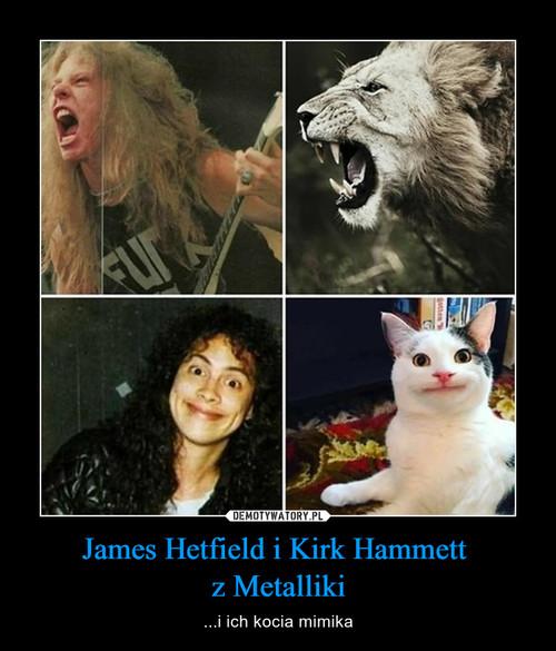 James Hetfield i Kirk Hammett  z Metalliki