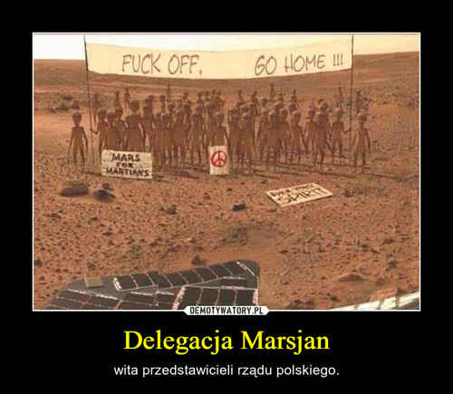 Delegacja Marsjan