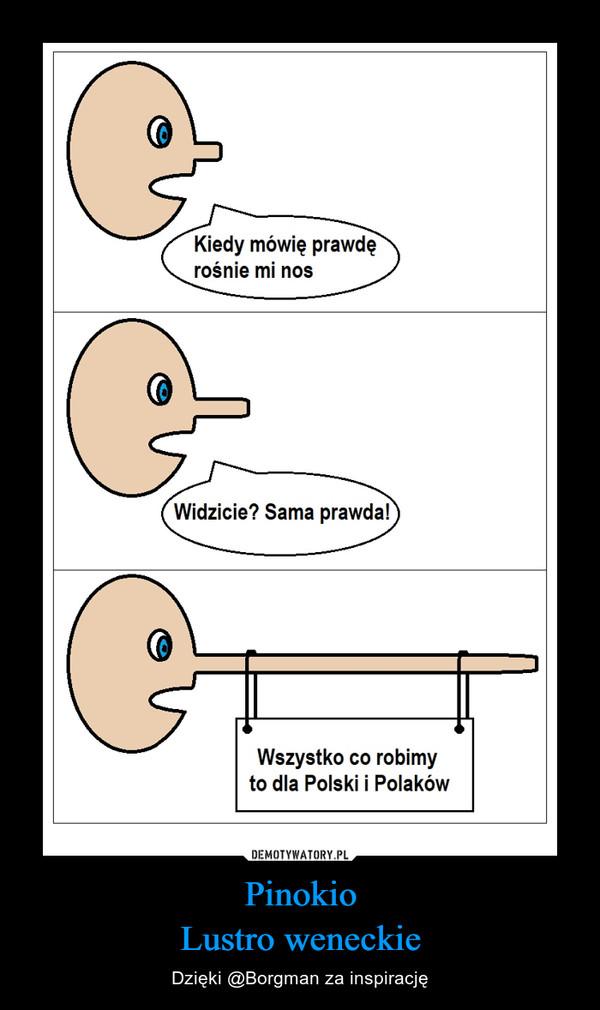 Pinokio Lustro weneckie