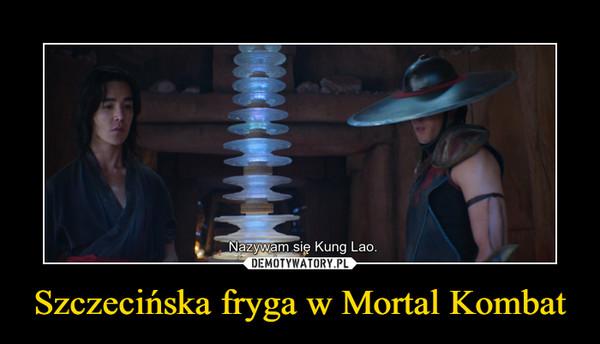 Szczecińska fryga w Mortal Kombat –