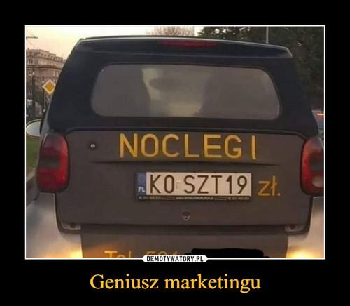 Geniusz marketingu