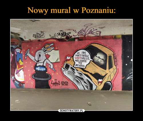 Nowy mural w Poznaniu: