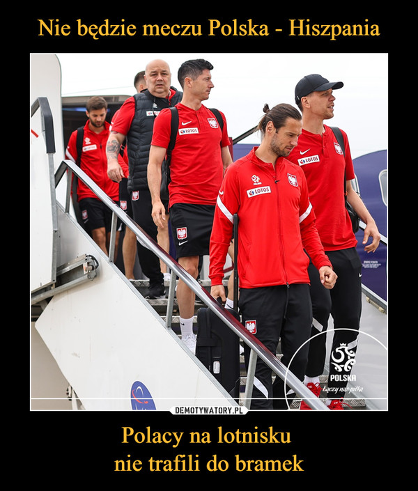 Polacy na lotnisku nie trafili do bramek –