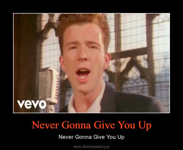 Never Gonna Give You Up – Never Gonna Give You Up