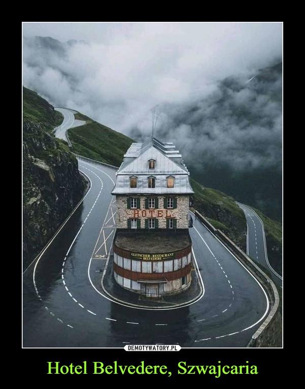 Hotel Belvedere, Szwajcaria –
