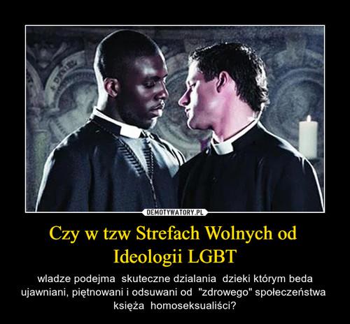 Czy w tzw Strefach Wolnych od  Ideologii LGBT