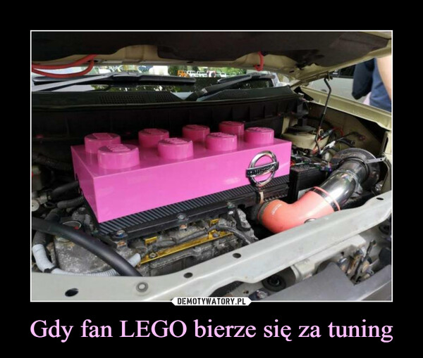 Gdy fan LEGO bierze się za tuning –