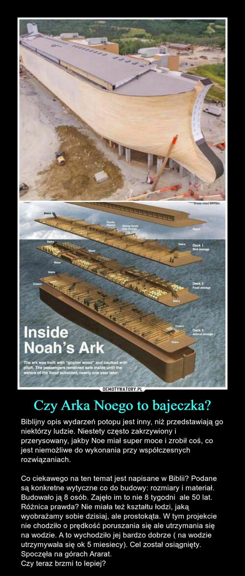 Czy Arka Noego to bajeczka?