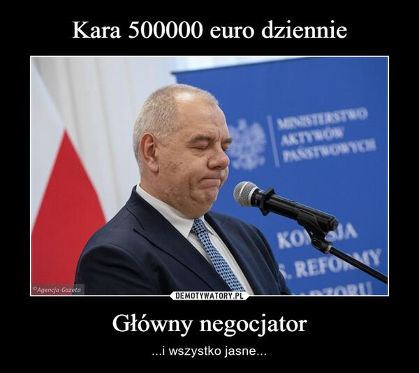 Główny negocjator – ...i wszystko jasne...
