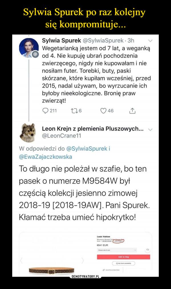 Sylwia Spurek po raz kolejny się kompromituje...